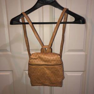 🐝VIETA studded faux leather purse bag backpack